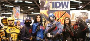 Blue Baroness at Wondercon