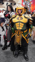 Baroness and Serpentor at San Diego Comic Con 2012
