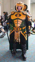 Serpentor at San Diego Comic Con 2012