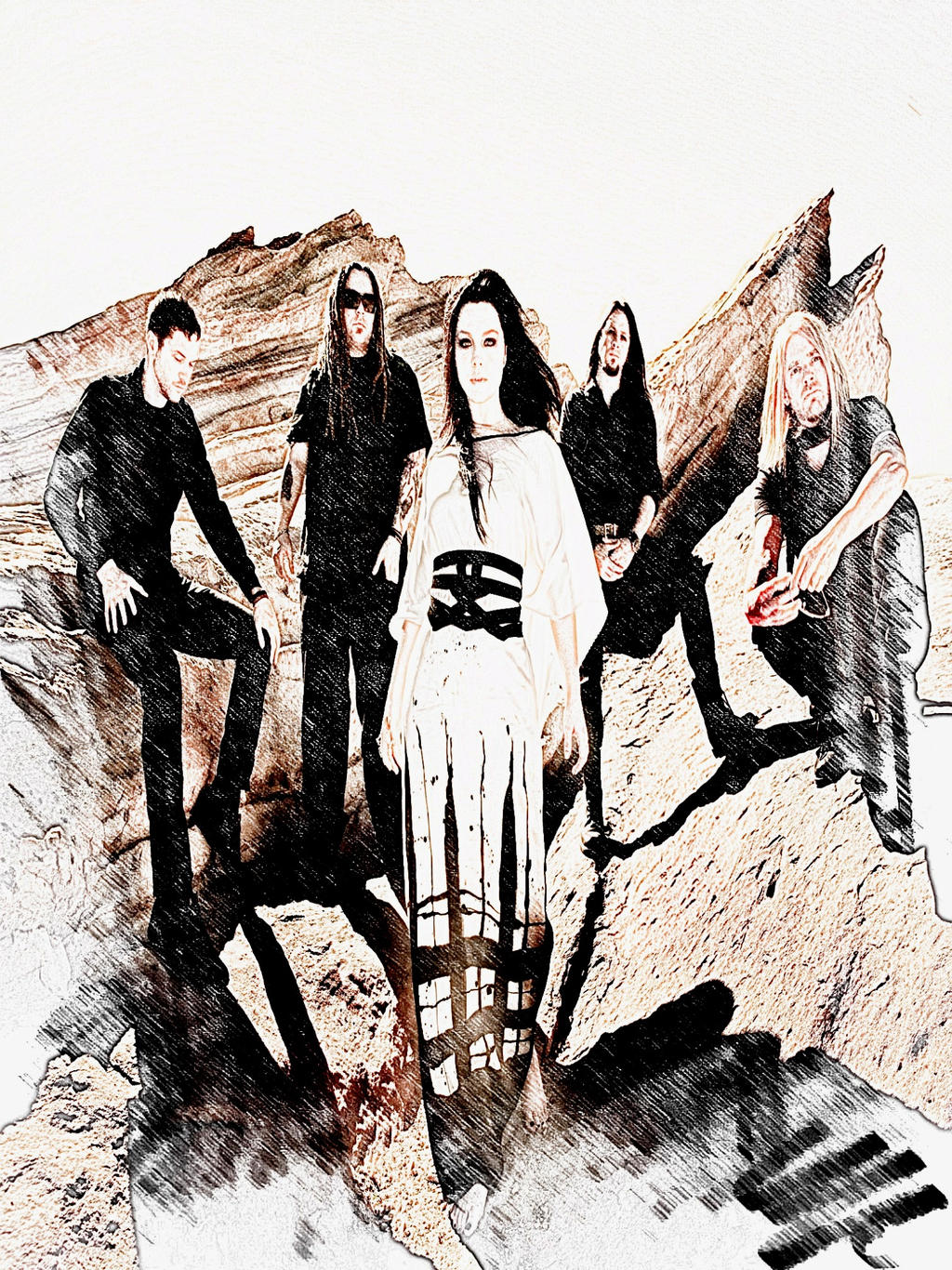 Evanescence album photo by Hernandez-HensonEvanescence Album Cover 2013