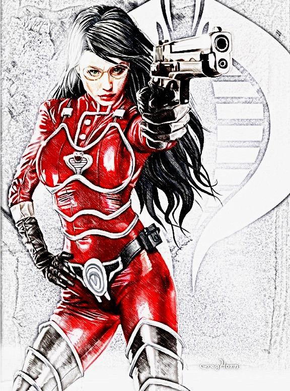 Baroness Sketch by Hernandez-Henson