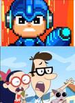 Mega Man Is Mega Pissed At Kat, Burt,  Millie