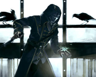 Corvo by vicious-mongrel