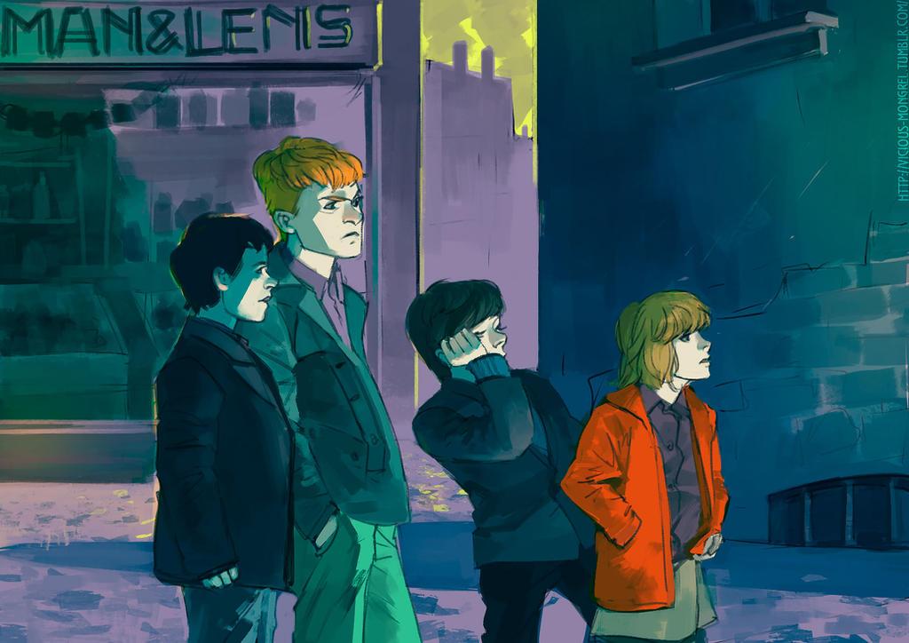 Stray Kids by Lagro-Ross