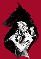Big Bad Wolf by vicious-mongrel