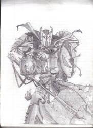 Medieval Spawn by FalseChaimera