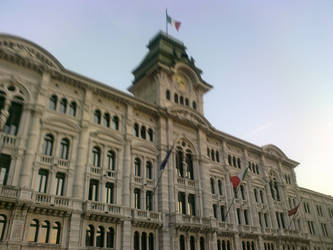 Piazza Unita' D'Italia Trieste by janedmcgeneric