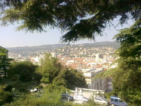 The city of Trieste