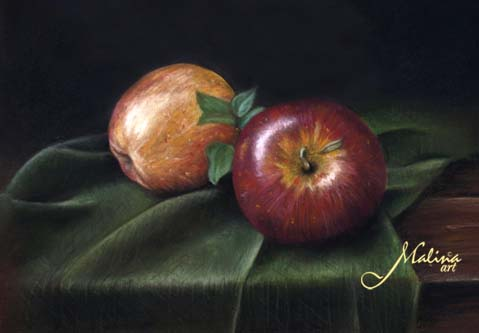 Apples by Malina-art