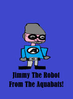 Jimmy The Robot from The Aquabats!. by solidwheel02