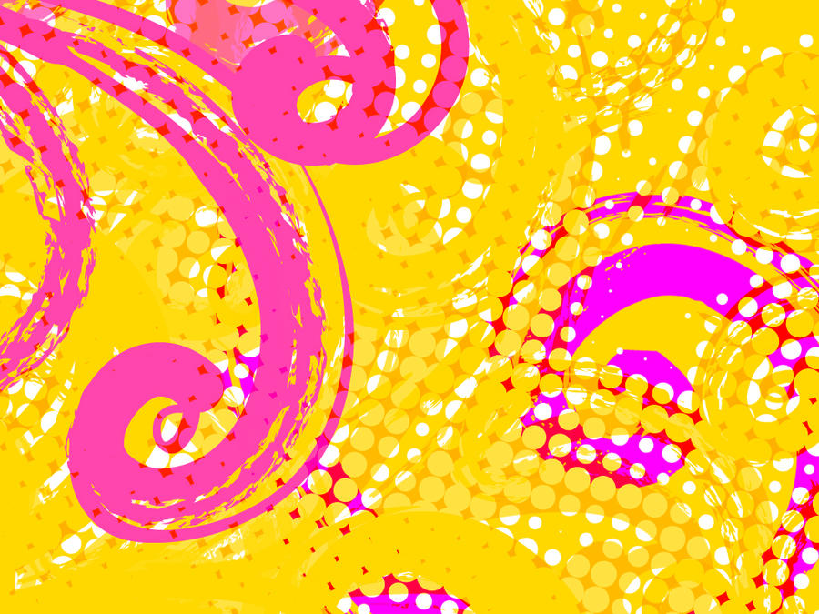 wallpaper yellow and pink by reneetr on deviantart
