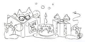 Life, cats and birthdays... by Maria-van-Bruggen