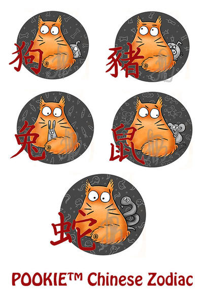 Chinese Zodiac by Maria-van-Bruggen