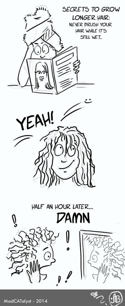 How to grow a longer hair...