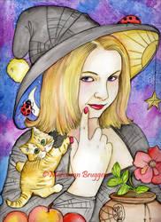 Lets talk about magic by Maria-van-Bruggen