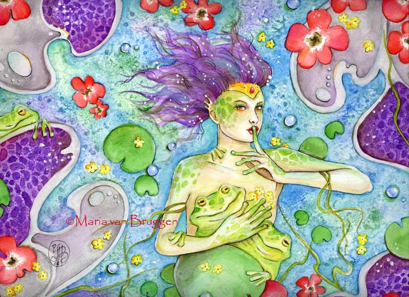Frog Fairy tales by Maria-van-Bruggen