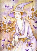 Spring Witch by Maria-van-Bruggen