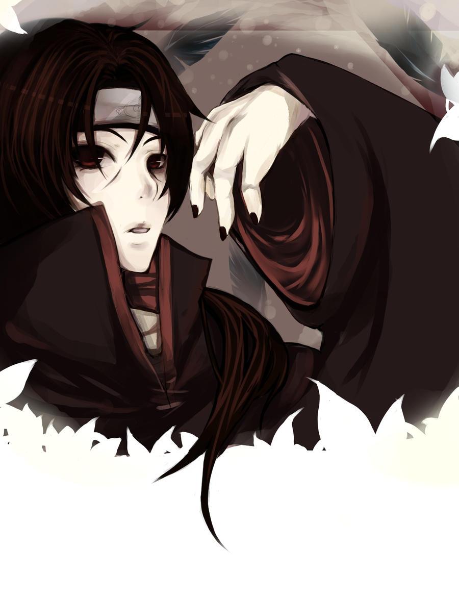 Itachi Uchiha: Crows by miikarin on DeviantArt