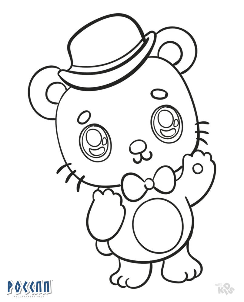 Chibi Freddy To Color Fnaf Lineart By Poccnnindustries On