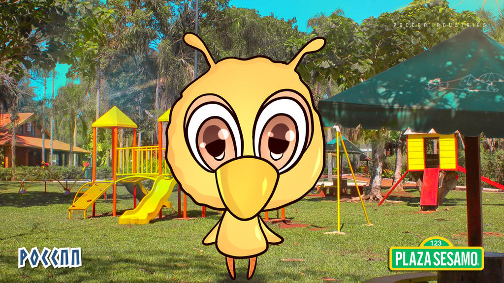 Chibi Big Bird Wallpaper Sesame Street By Poccnnindustries