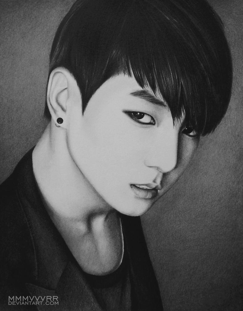 Jungkook Bts Drawings: Jungkook By Mmmvvvrr On DeviantArt