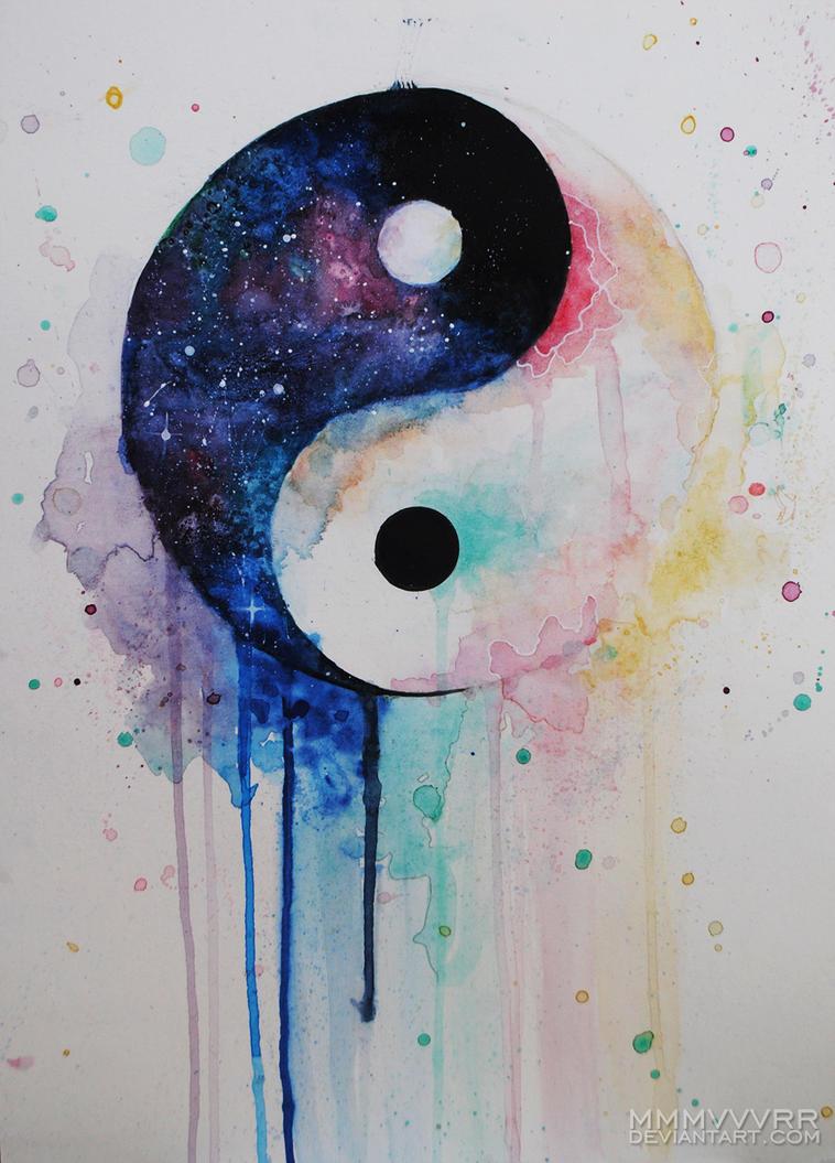 Wonderful Yin Yang by mmmvvvrr on DeviantArt QE14