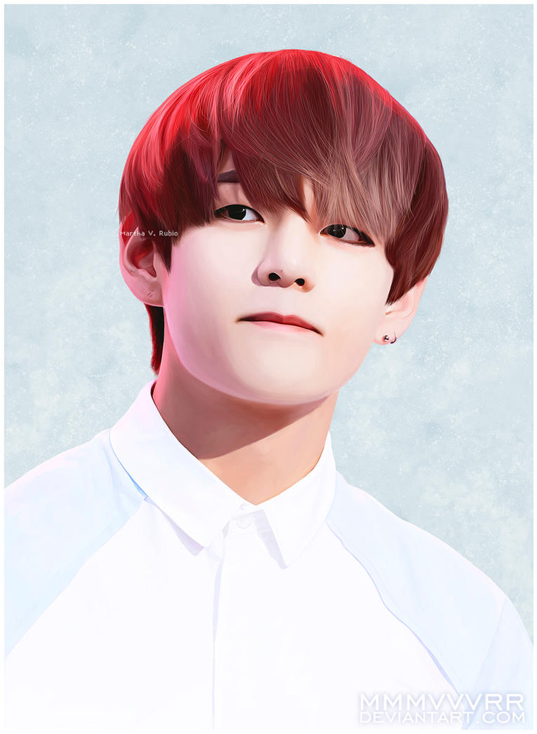 Taehyung By Mmmvvvrr On Deviantart