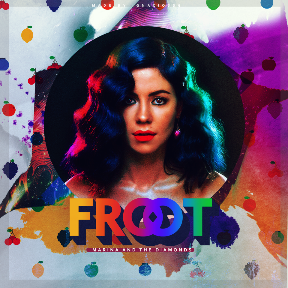 Marina And The Diamonds Froot Wallpaper