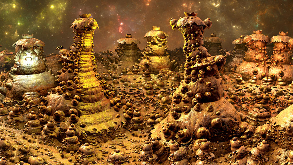 Termite Civilization by Aerison