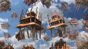 Ascending Stilt Houses
