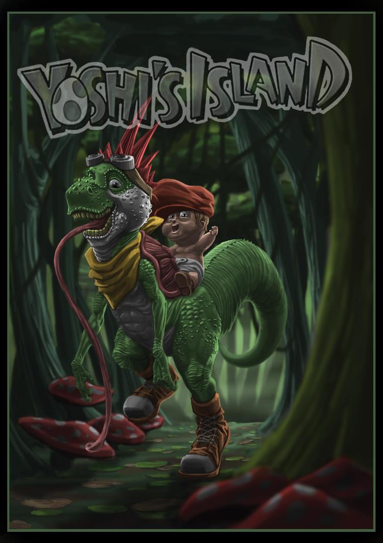yoshi's island by MorganHowell