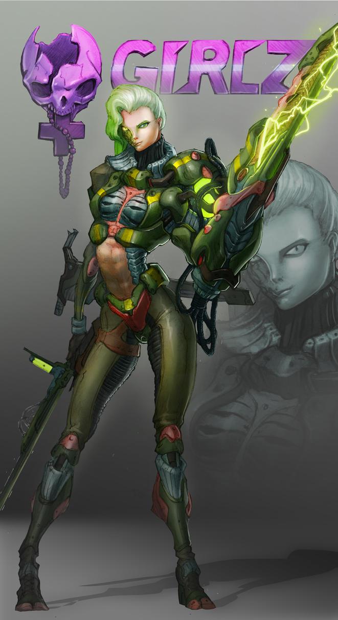 Bounty Huntress by MorganHowell