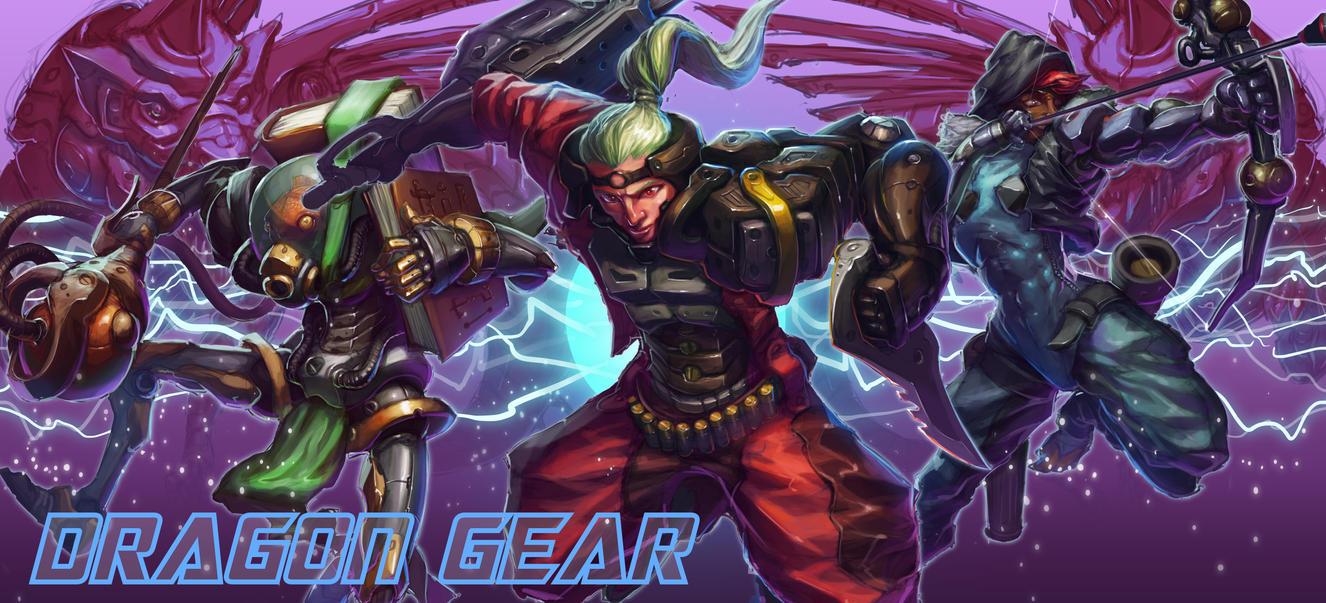 Dragon Gear by MorganHowell