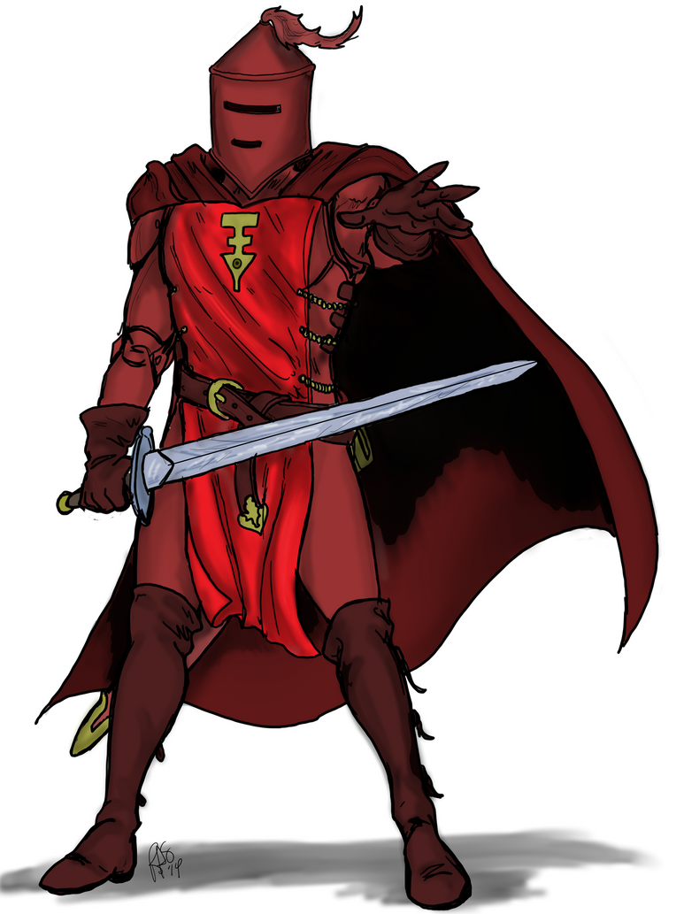 Red Knight - 01 by Spake759