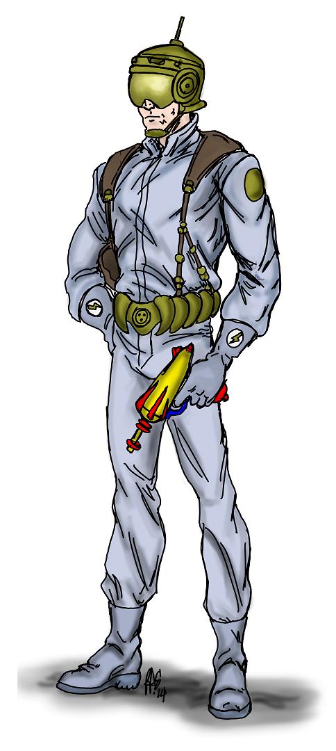 Tomorrow Man - 001clr-draft by Spake759