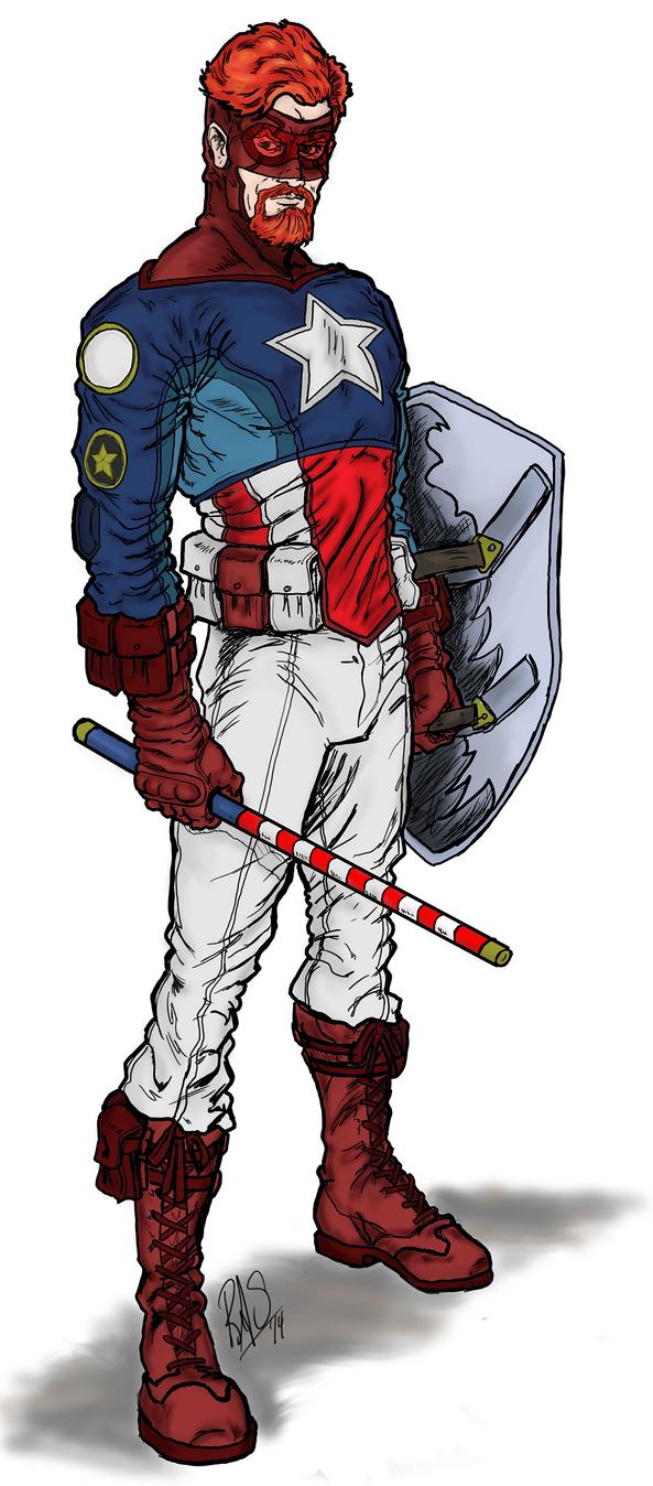 American Patriot - Digital - 001a by Spake759