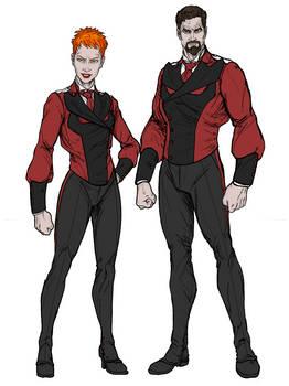 Kell Hounds Dress Uniform