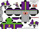 Avenger Chuck E. Cubeecraft by james-j123