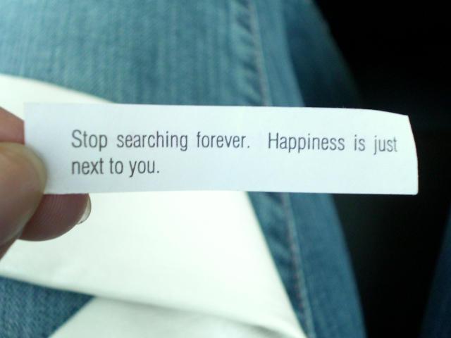 happiness by hupomeno