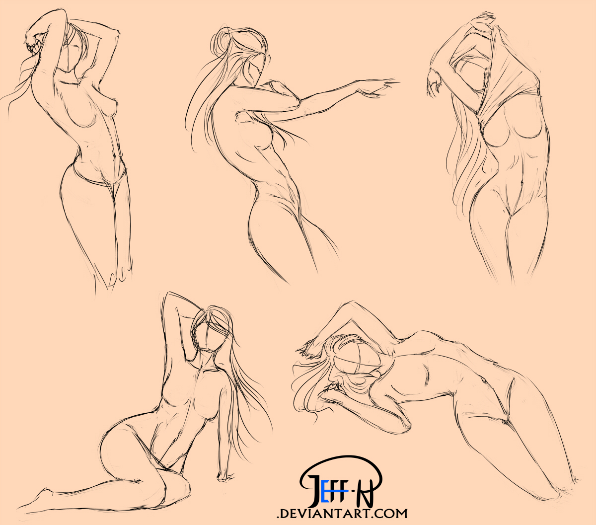 Pose Practice Day 2 by Jeff-H