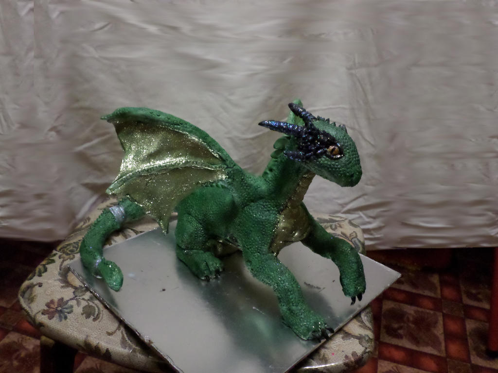 Dragon done by Kitty-kat911