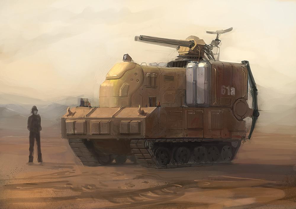 AA tank by JimHatama
