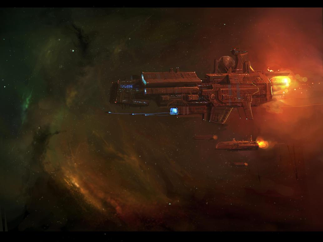 s_ship by JimHatama