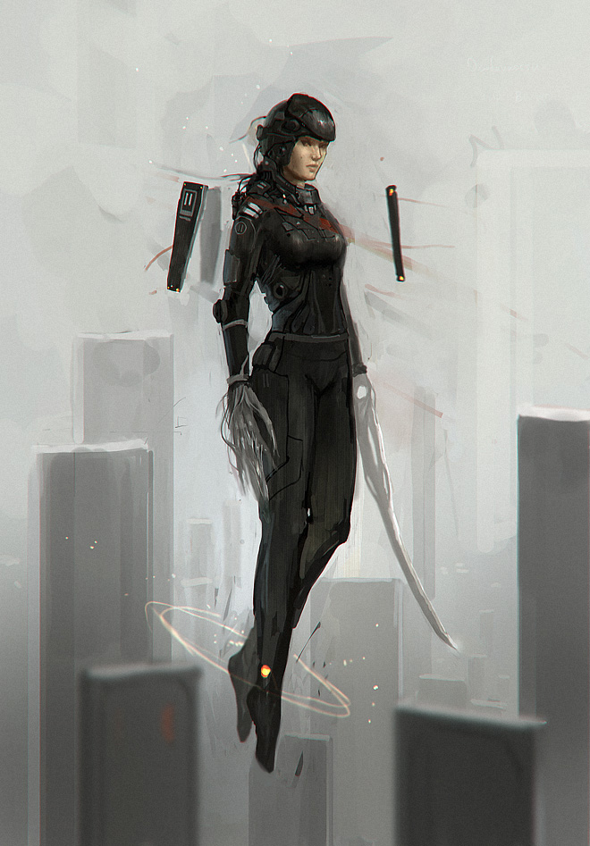 armor pilot by JimHatama