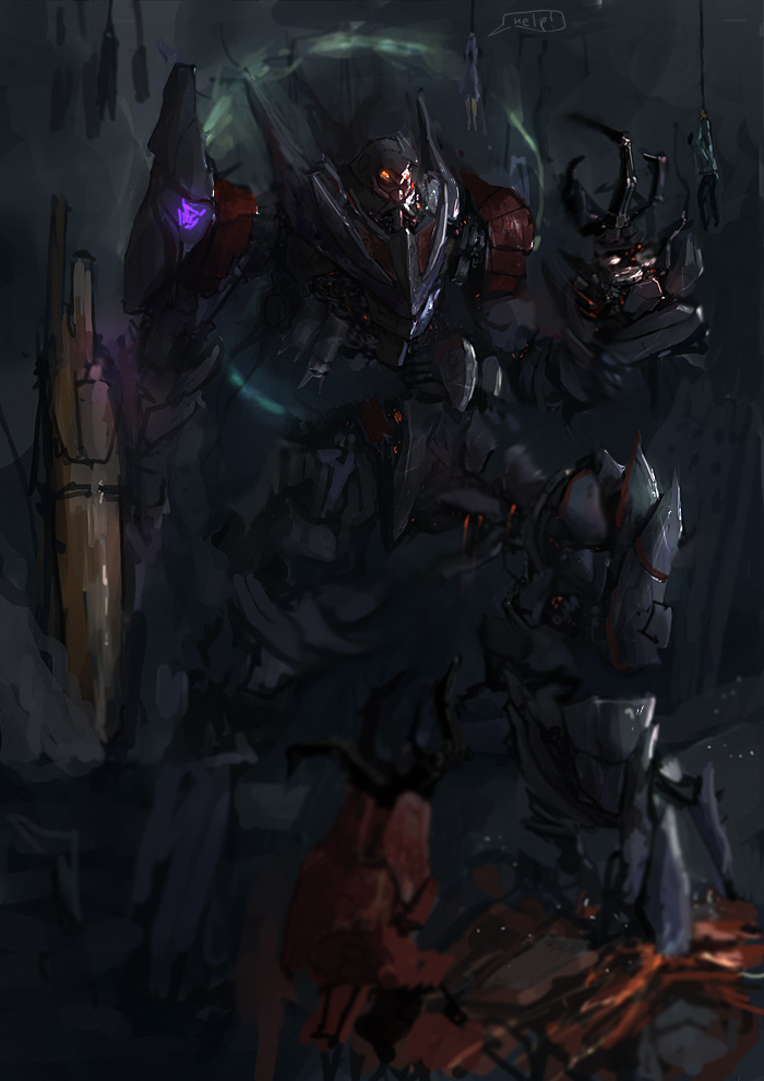 Lord Megatron by JimHatama