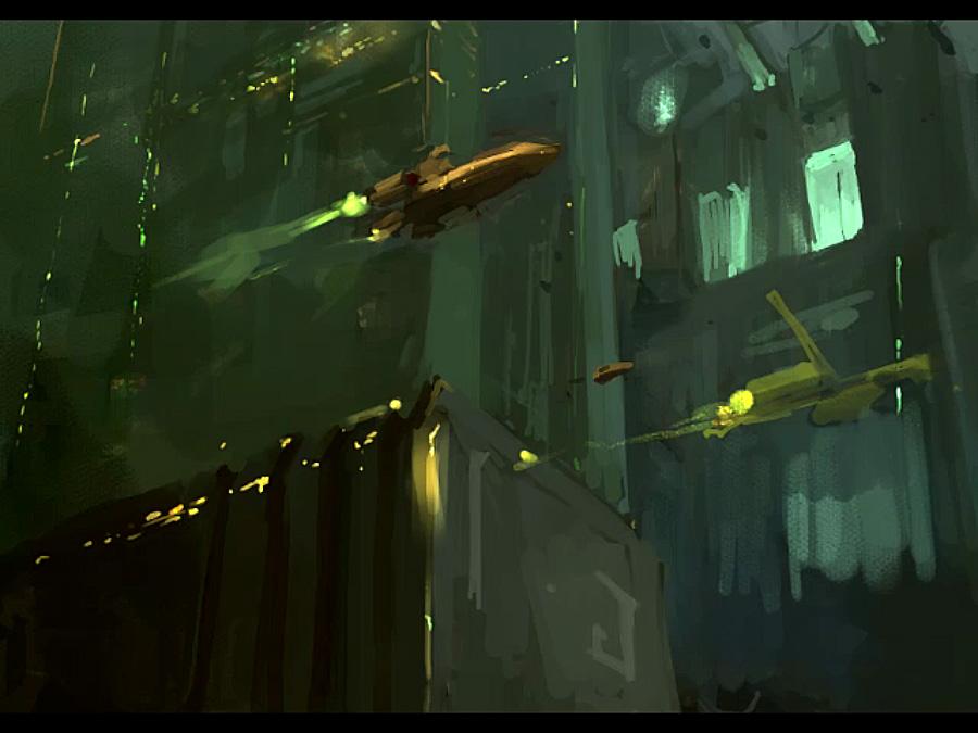space docks by JimHatama
