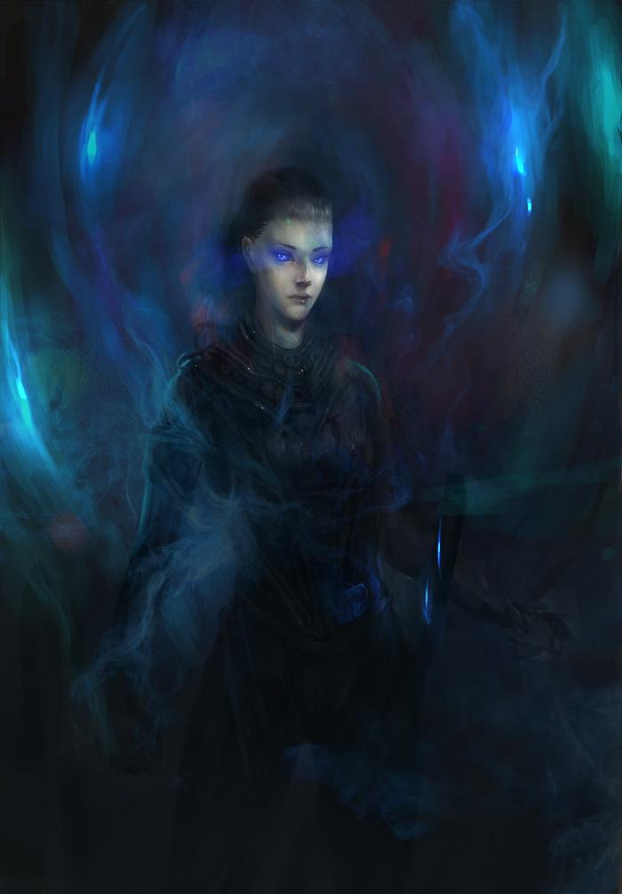 Fremen woman by JimHatama