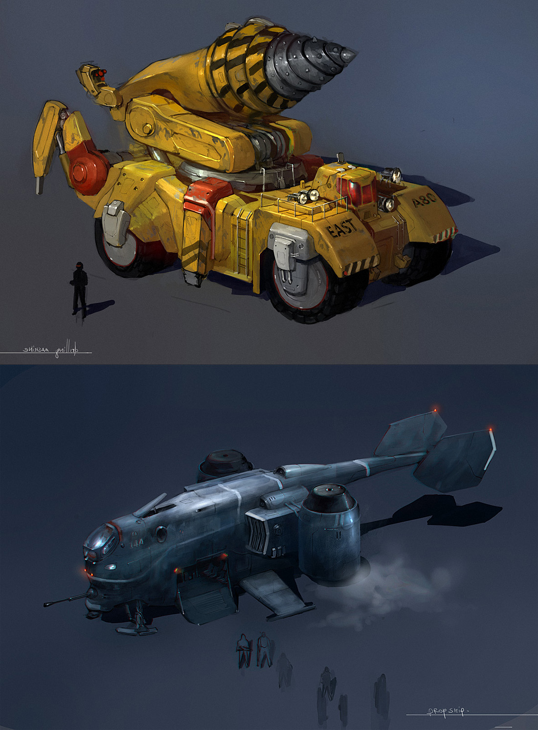 concepts by JimHatama