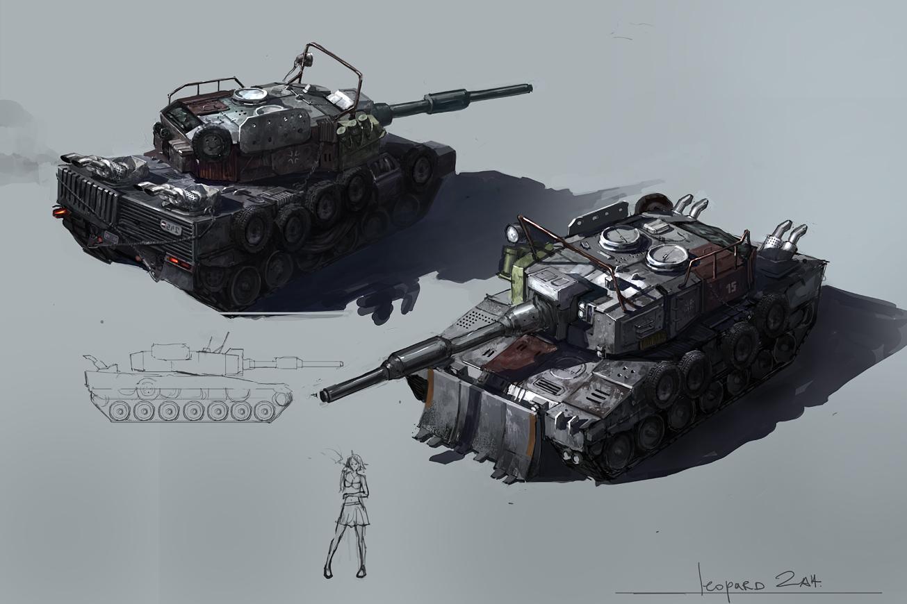 junk leopard2 by JimHatama