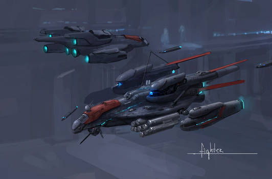 space fighter concept